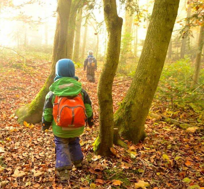 A l'eco crèche, les enfants vivent au contact de la nature