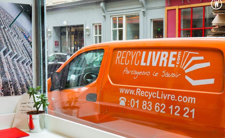 livre d'occasion : leur donner une nouvelle vie avec Recyclivre