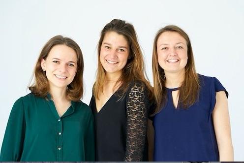 Crèche intergénérationnelle : Pauline, Isabelle et Astrid, les cofondatrices du réseau Tom & Josette
